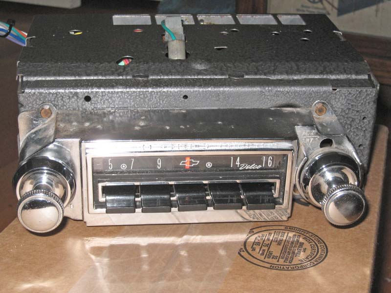 61 62 repro am fm radio chevytalk free restoration and repair help for your chevrolet