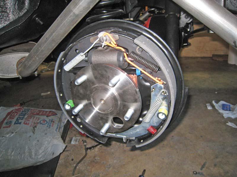 62 Impala Drum Brakes