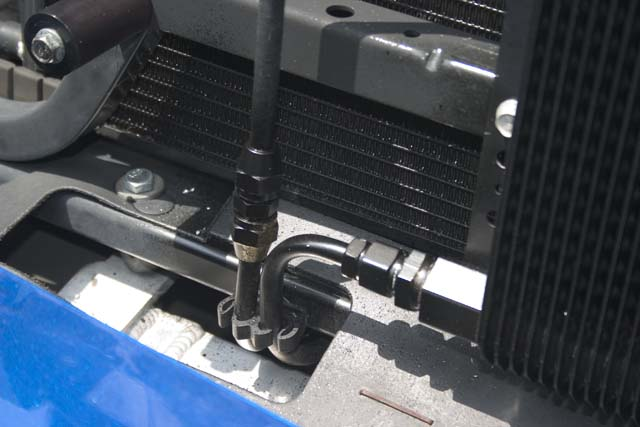 Installed my B&M Transmission Cooler - AWD, Differential