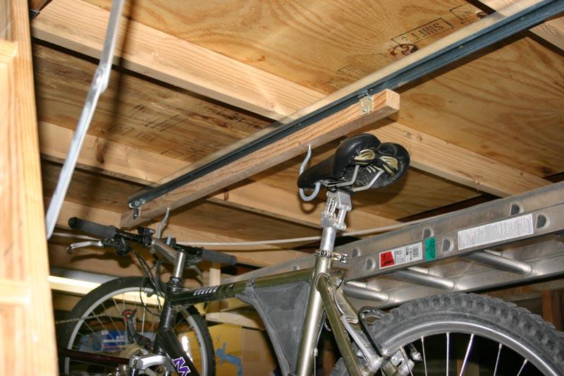 Garage Options For Hanging Storing Bikes